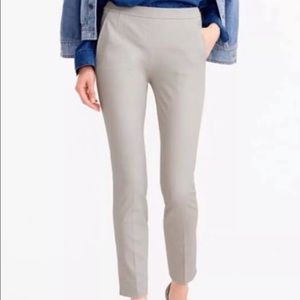 J. Crew Martie Pant Bi Stretch Cotton 00 2